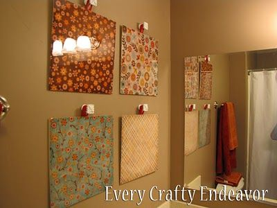 Great way to use your scrapbook papers!!