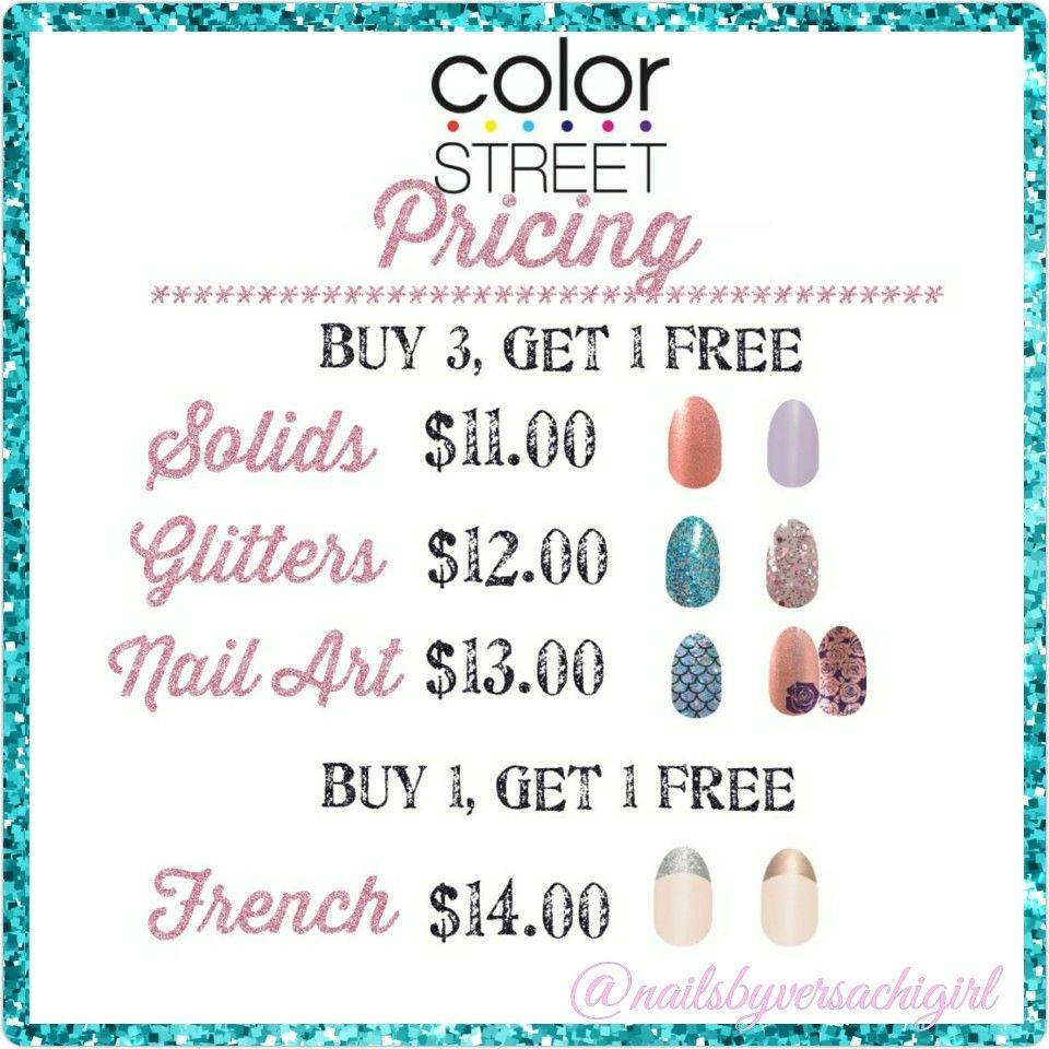 Pricing For Color Street Nails