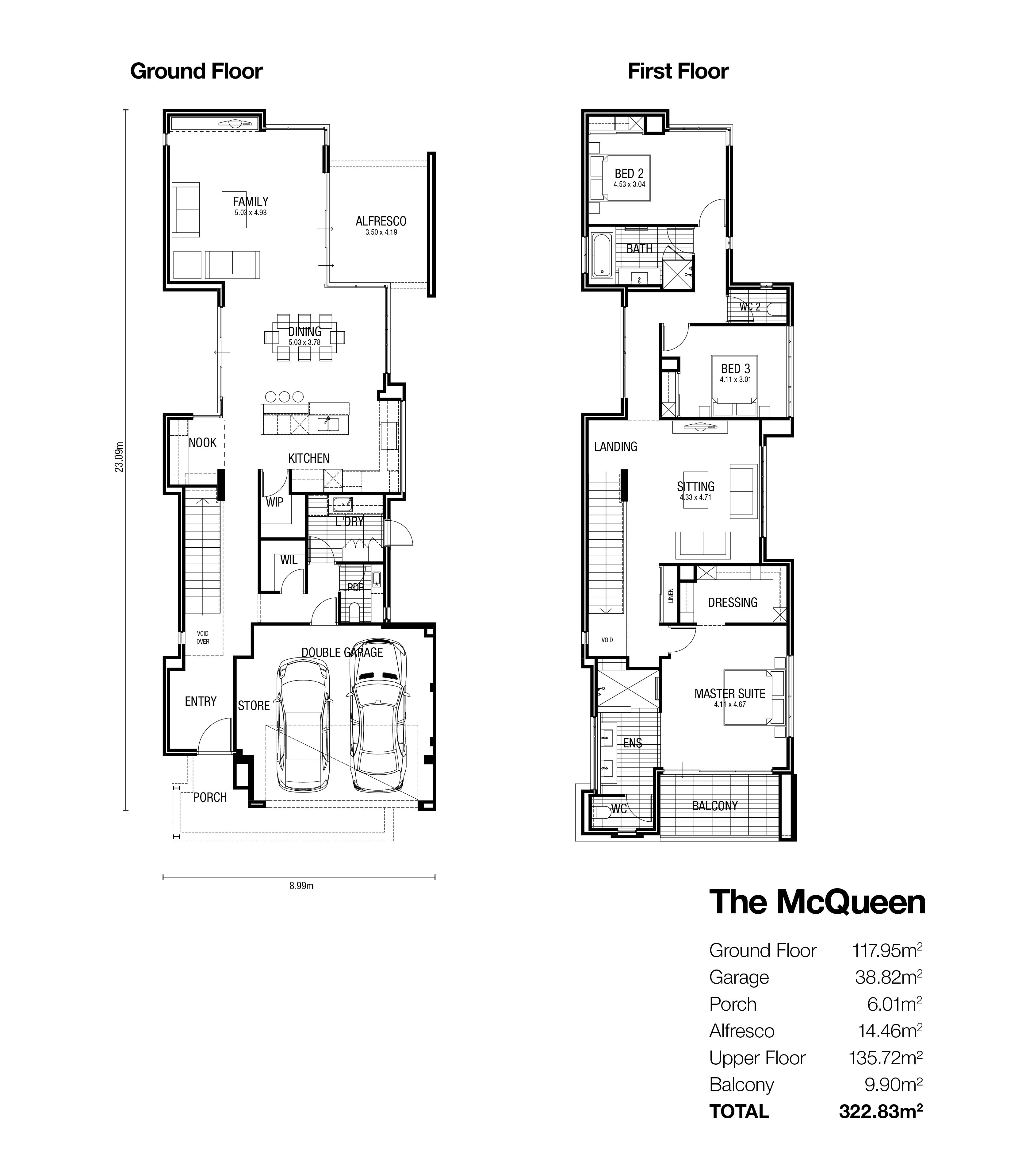 The Mcqueen Display Homes Broadway Homes Display Homes Home House Design