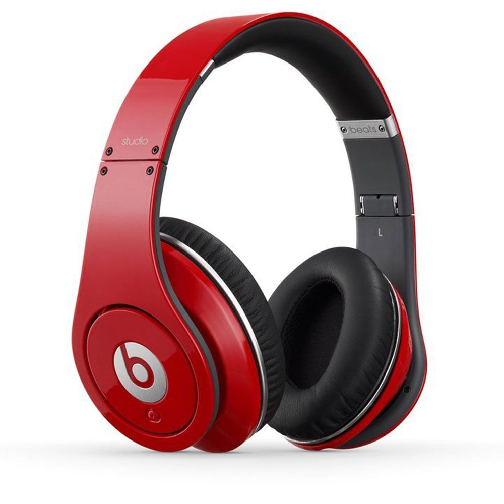 Beats By Dr Dre Studio Over Ear Headphone Red 244 71 Dre Headphones Beats Headphones Beats Studio