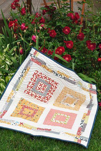 Sweet Jane's Lovie Pattern by Sweet Jane, Reunion fabric b… | Flickr