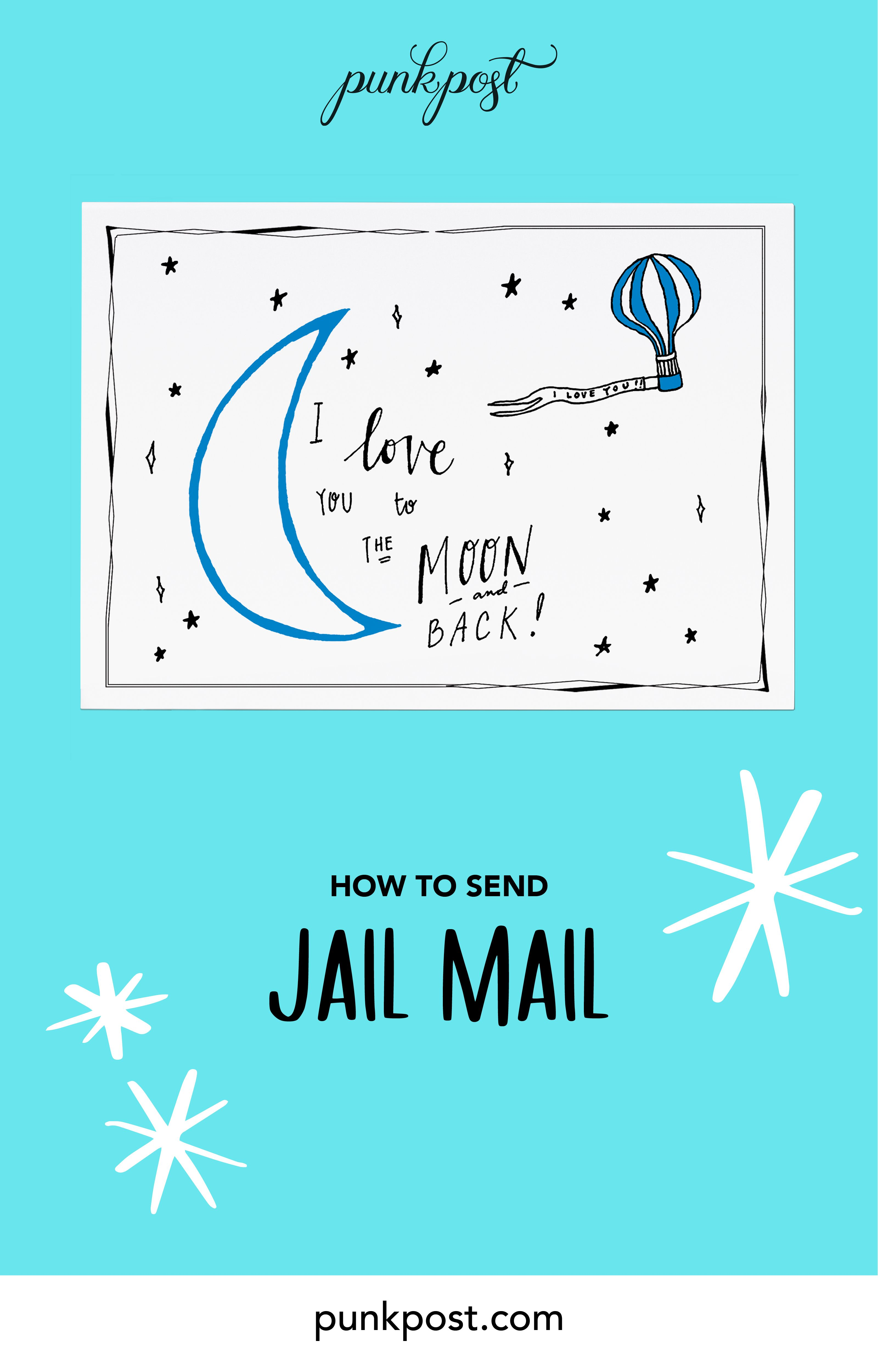 How to send jail mail inmate quotes letter to my