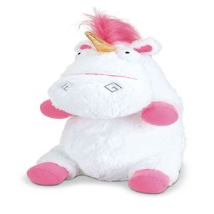 Despicable Me 3 Jumbo 18 Inch Stuffed Unicorn Fluffy Stuffed Unicorn