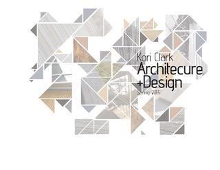 Beautiful Title Page Architecture Portfolio Design Architecture