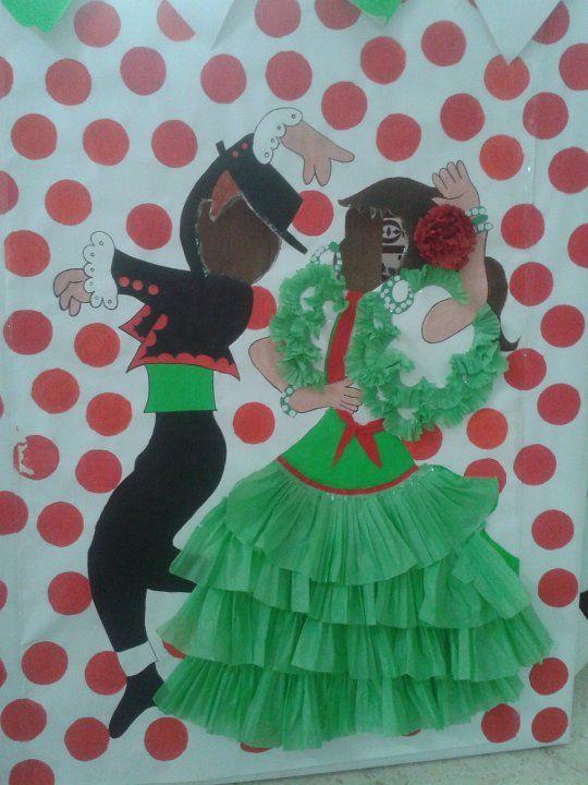 Dia De Andalucia Día De La Cruz Dia De Andalucia Fiesta De Flamenco