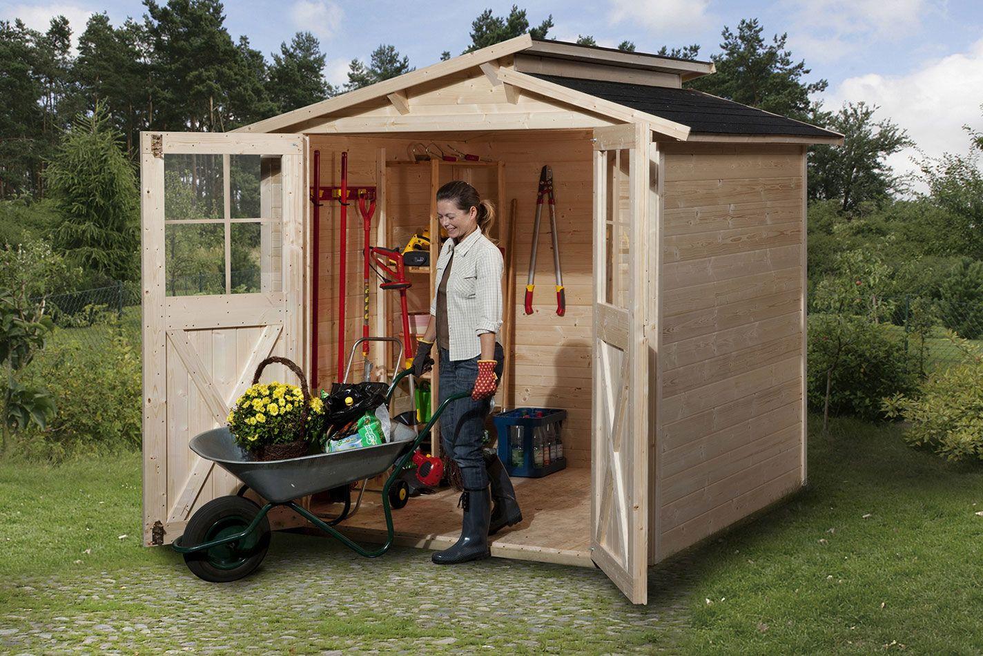 Abri en madriers 19 mm Trend (mit Bildern) Gartenhaus