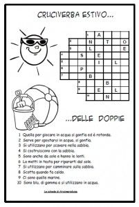 Crossword Search Cruciverba Estivo Delle Word DoppieItalian eH2YEW9ID