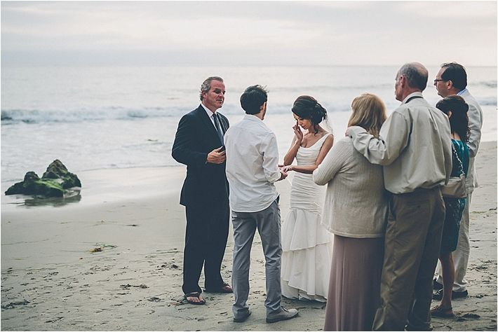 Casual Intimate Beach Elopement