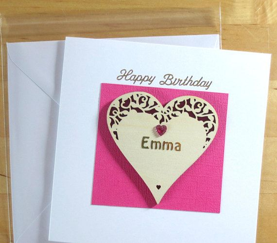 Personalised Birthday Card For Her Cards
