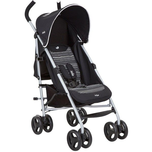 JOIE NITRO BLUE STROLLER//BUGGY WITH RAINCOVER