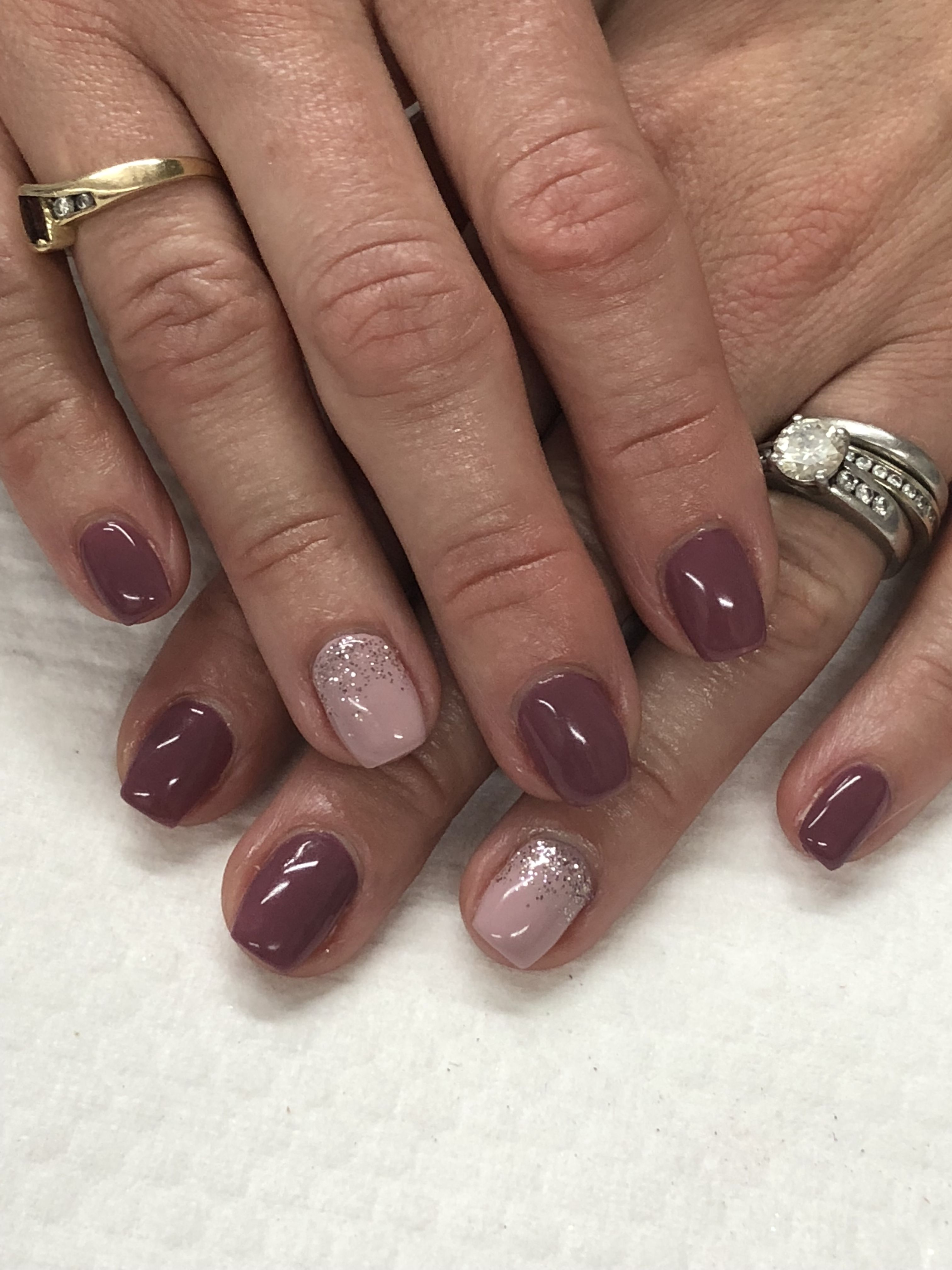 Mauve Summer Fall Gel Nails Light Elegance Rosey Posey Your Churn Pop The Bubbly Fall Gel Nails Mauve Nails Gel Nail Light