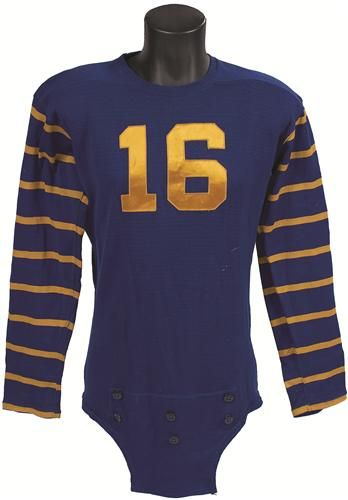 8ebcadaea 1940s High Quality O'Shea Football Jersey. From the World War II era comes