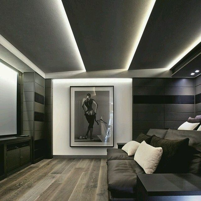 Moderno dise o techos inclinados resaltados con for Disenos techos minimalistas