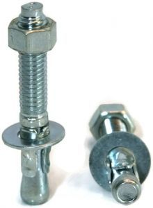 Wedge Anchor 1 2 13 Zinc Wedge Anchors Zinc Plating Anchor Bolt