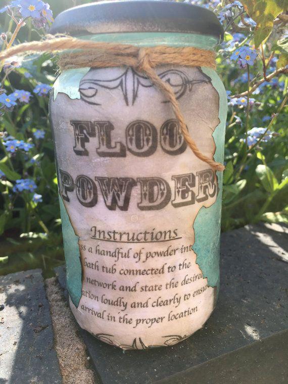 Homemade Floo Powder Bath Salts Etsy Bath Salts Powder Bath Harry Potter Party