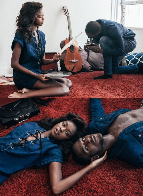 The Happy Negro - blackfashion:   Kristina Elise & Kofi Siriboe by...