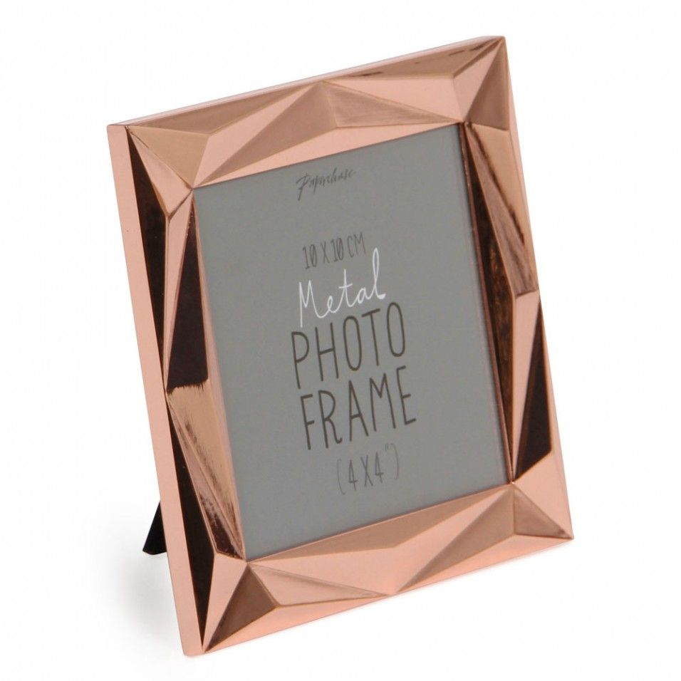 angle copper photo frame 4x4 photo frames home u0026 kitchen