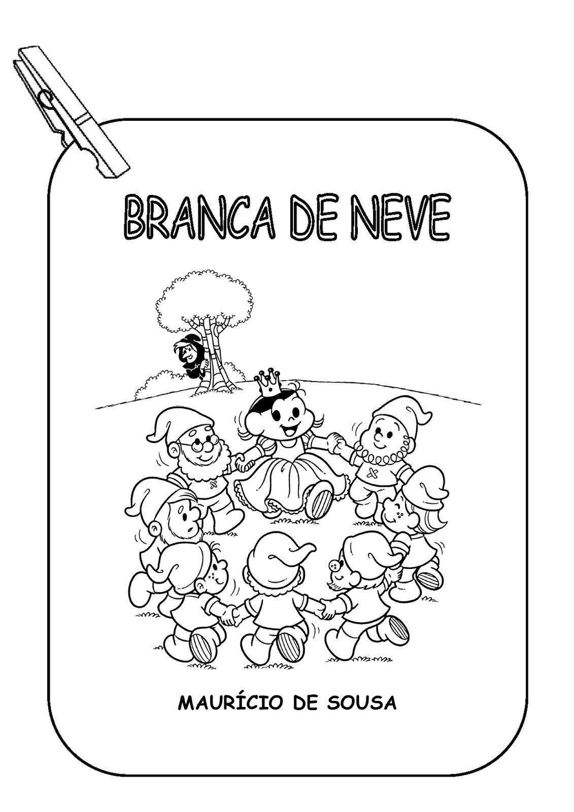 Pin De Regina Reis Em Alfabetizacao Historia Branca De Neve