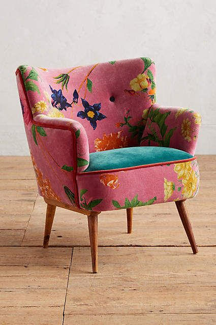 Anthropologie Floret Accent Chair Affiliate Shopping