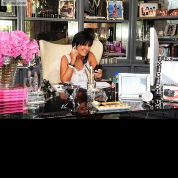 Kris Jenner S Office I Ll Be In My Pinterest