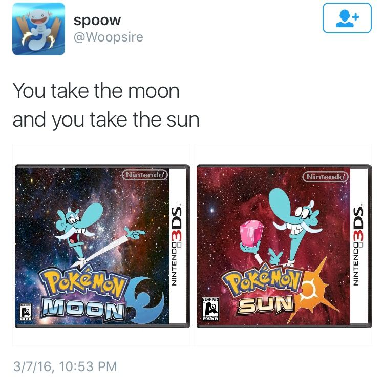 Pokemon Sun and Moon Cover Parodies: Image Gallery (Sorted by Comments) (List View)