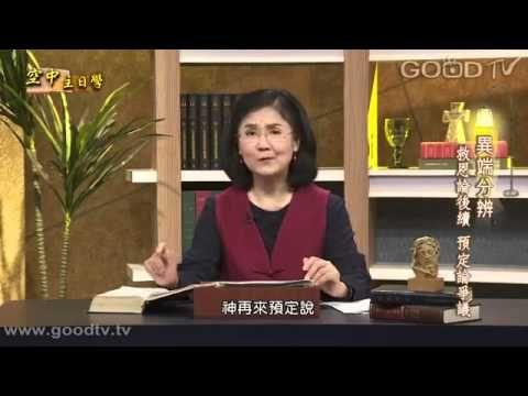 異端分辨 蔡麗珍17救恩論后續 預定論爭議 | Talk show, Scenes, Best