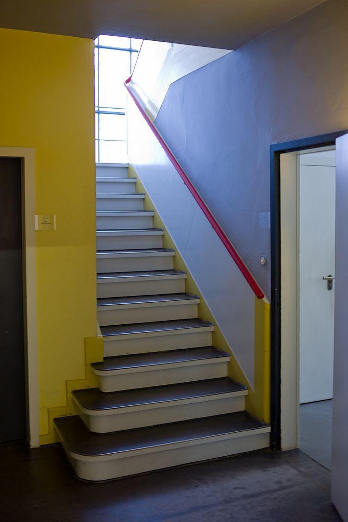 Bauhaus Dessau Bauhaus architecture, Bauhaus interior