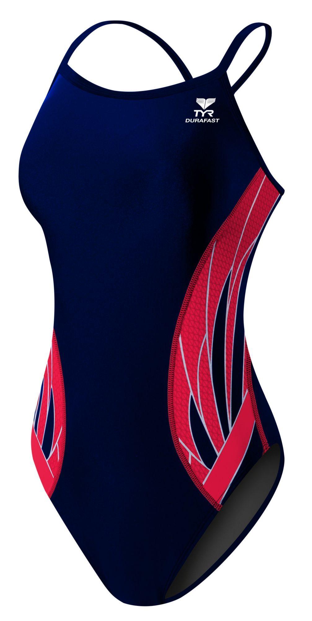 TYR Girls' Phoenix Splice Diamondfit Back Swimsuit Women