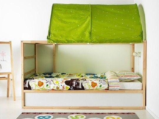 Chambre denfant lit réversible kura par ikea
