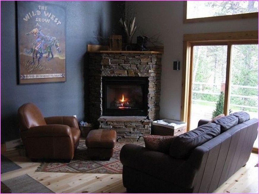 Corner Decoration Ideas For Living Room Home Design Ideas Corner Fireplace Fireplace Furniture Trendy Living Rooms