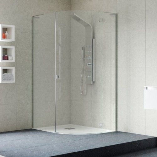 Edpo1207 1200 X 800mm Frameless Offset Quadrant Shower Enclosure Right Hand Quadrant Shower Quadrant Shower Enclosures Shower Enclosure