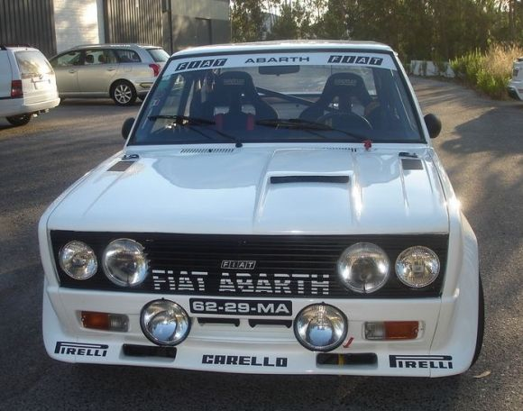 Favorite Fiat 1980 131 Abarth Rally Tribute Fiat Fiat Cars