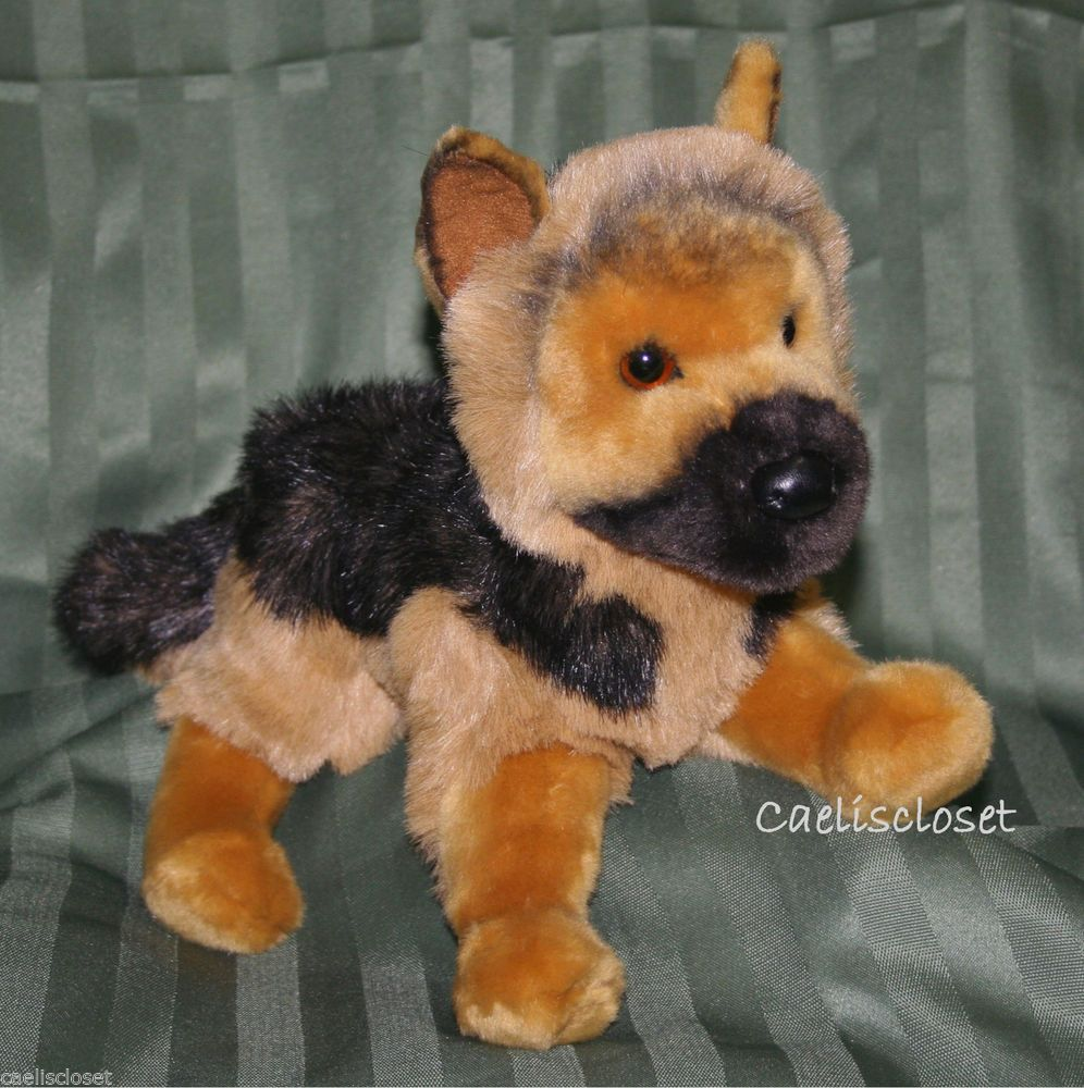 1af8a03b99f Douglas General GERMAN SHEPHERD Plush Stuffed Animal Dog Cuddle Toy New   DouglasCuddleToy