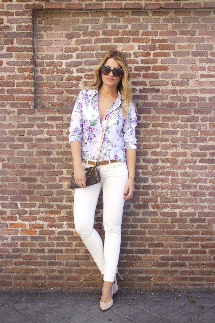 90799f53dab benetton flower shirt salsa jeans La redoute belt pochette eva louis ...