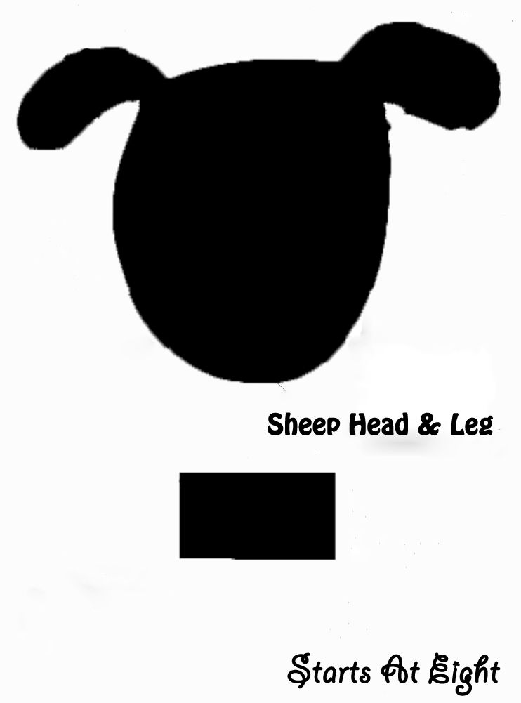 sheep face template google search year of the sheep craft