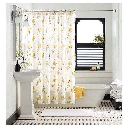 ThresholdTM Vintage Floral Shower Curtain