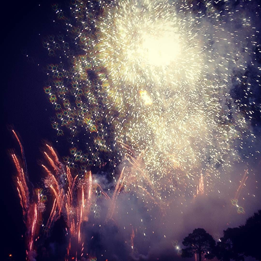 Literally the best fireworks I've ever seen. Do you see it? #disneyworld #epcotfireworks #disneywedding #danielandmarc