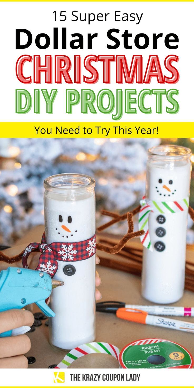 15 Dollar Store Christmas DIY Projects Anyone Can Do -   15 christmas crafts ideas