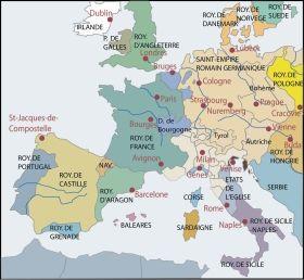 strasbourg carte europe