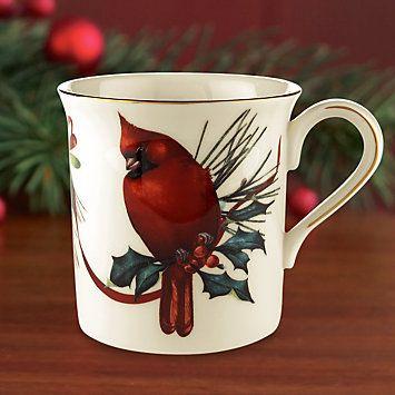Lenox winter greetings winter greetings cardinal mug fine china lenox winter greetings winter greetings cardinal mug m4hsunfo