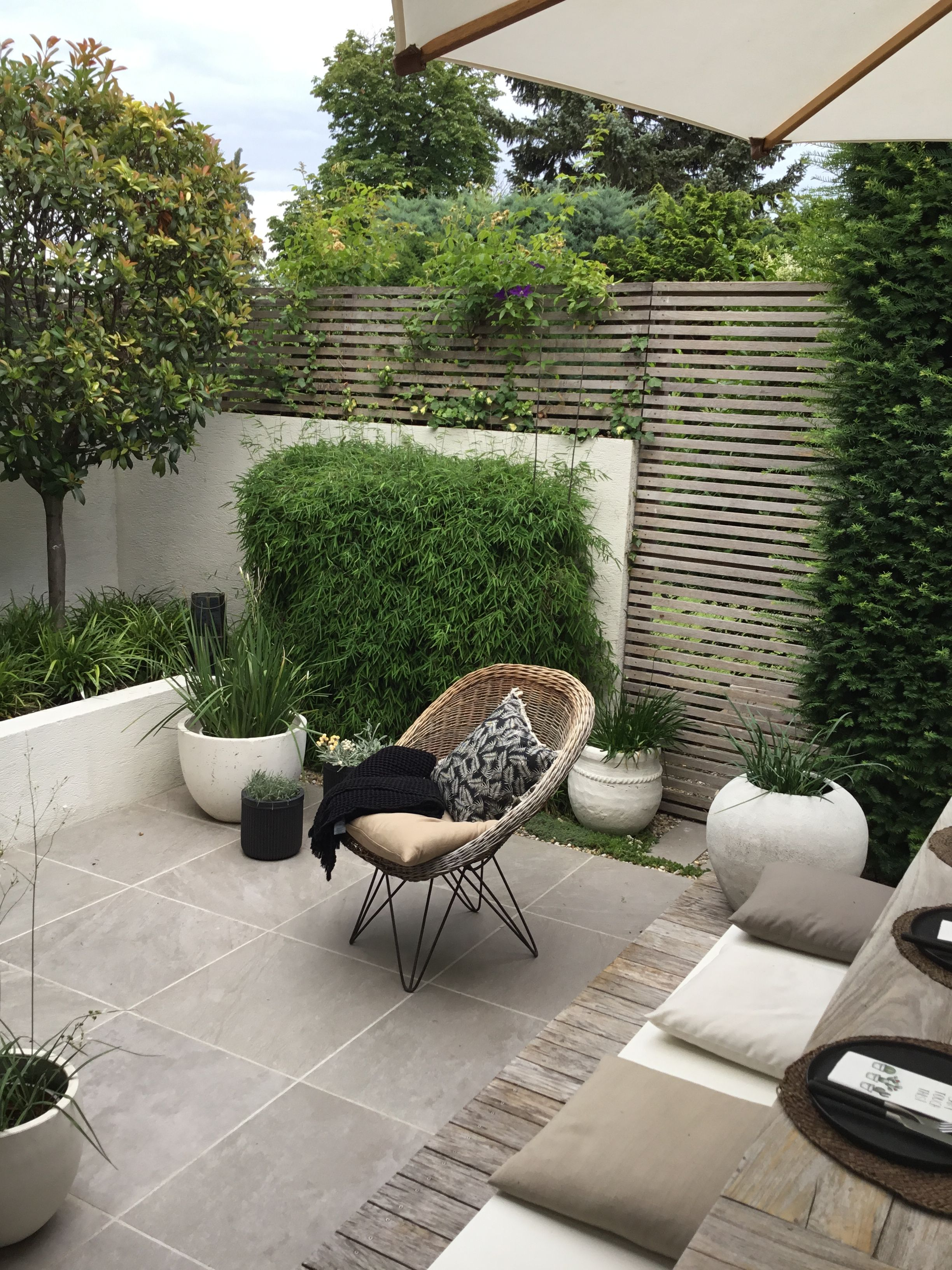 Pin By Petra On Tuin Small Backyard Landscaping Small
