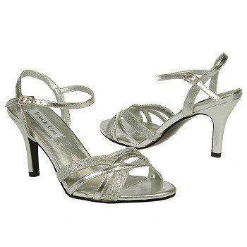 Touch Ups by Benjamin Walk TARYN Shoes (Silver) - Women's Shoes - 8.5 M
