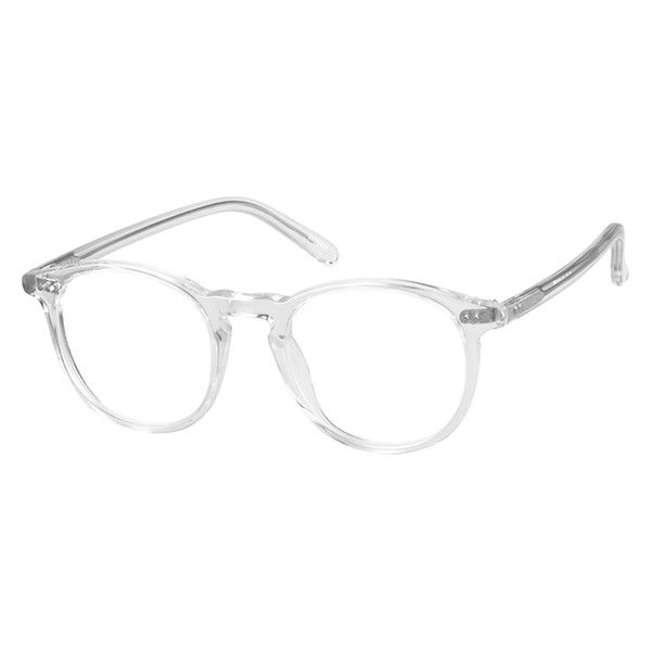 043d7c700ef Zenni Round Prescription Eyeglasses Clear Plastic 4422423