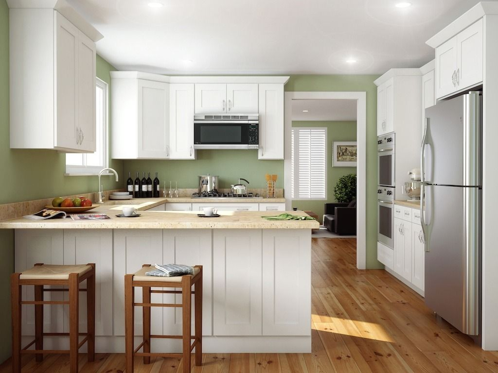 Best Ice White Shaker 05 X 30 Open Shelf Wall End Cabinet 400 x 300