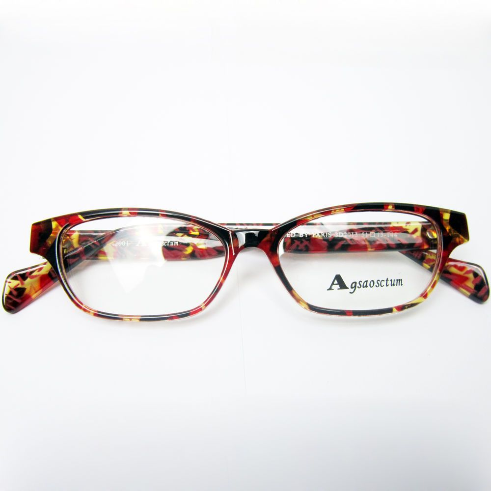 Sport\'s Style Amber Multi-colored Eyeglass Frame Spectacles Eyewear ...