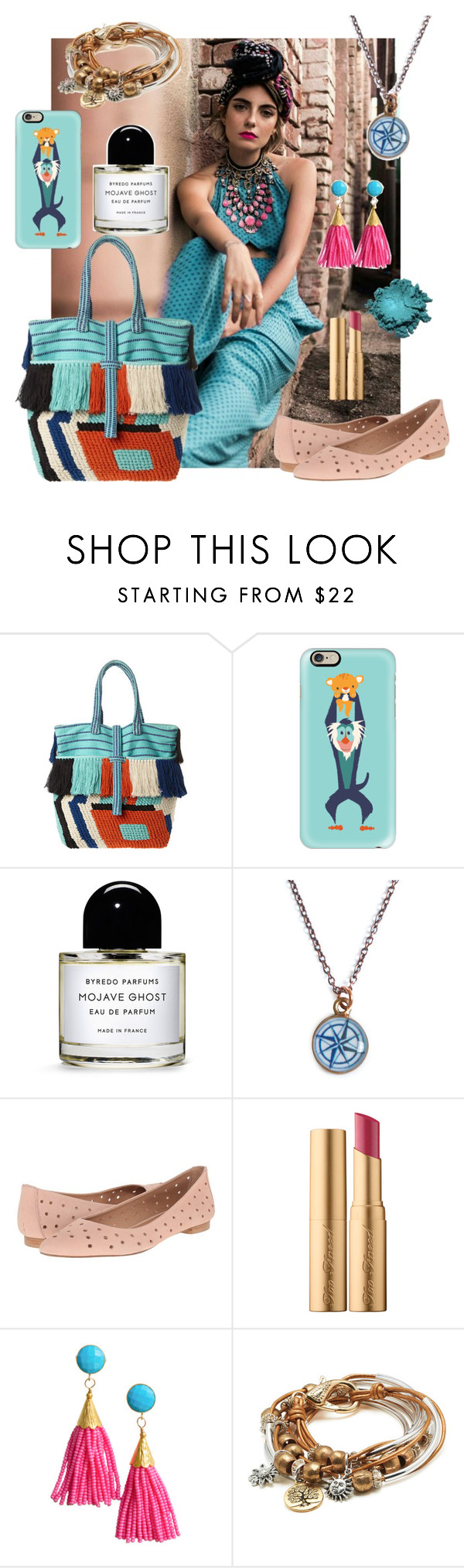 """""""Excess"""" by maritabirken ❤ liked on Polyvore featuring Diego Binetti, Casetify, Byredo, Chart Metal Works, Corso Como, Too Faced Cosmetics and Lizzy James"""