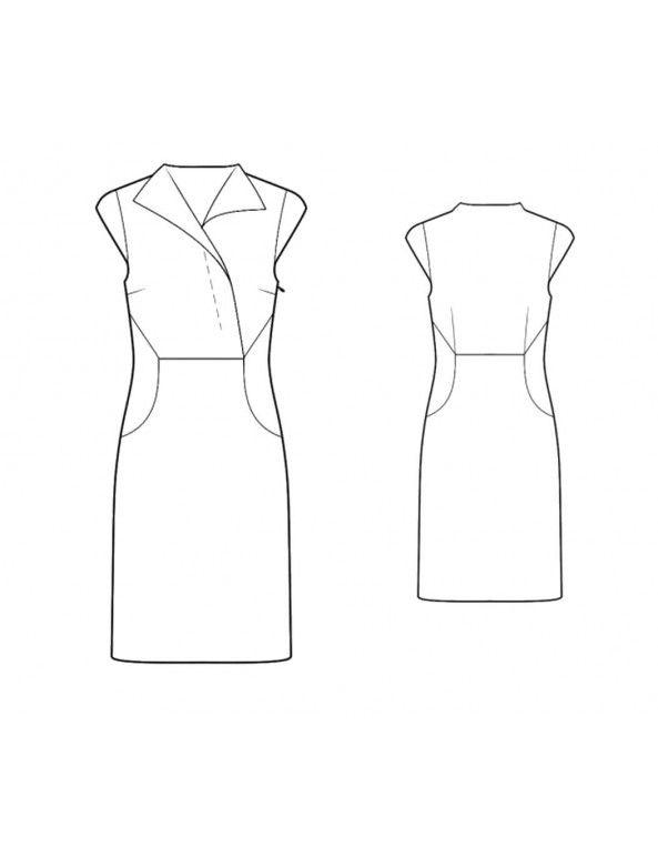 Bootstrapfashion.com - Custom-Fit Sewing Patterns - Asymmetrical ...
