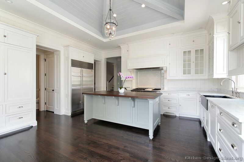 White On White With Walnut Floor Colour Or Change Up A