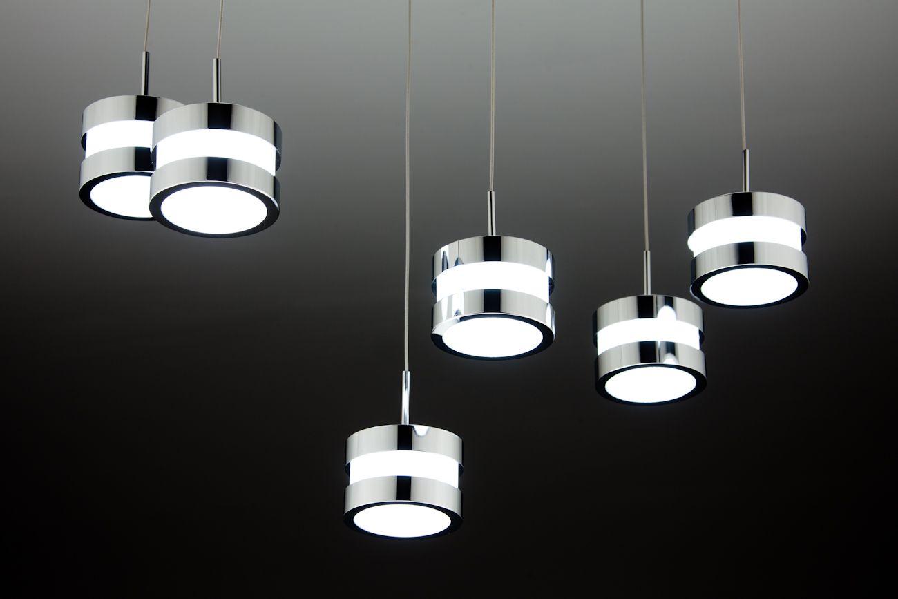 Cup 6 lampadario a sospensione led di design moderno u2014 import for me