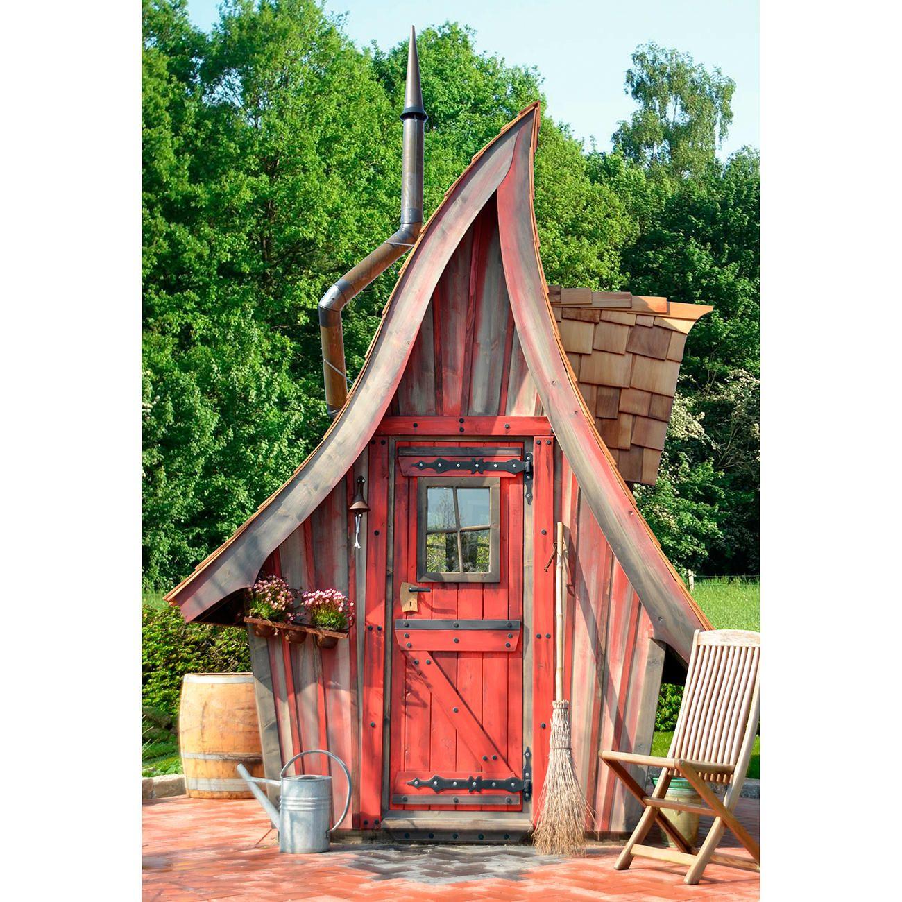 Märchenhaftes Gartenhaus, Schlüsselfertig Ihre Zauberhafte Idylle   Wie Im  Märchen: Schlüsselfertig Gebaute Holzgartenhäuser Mit